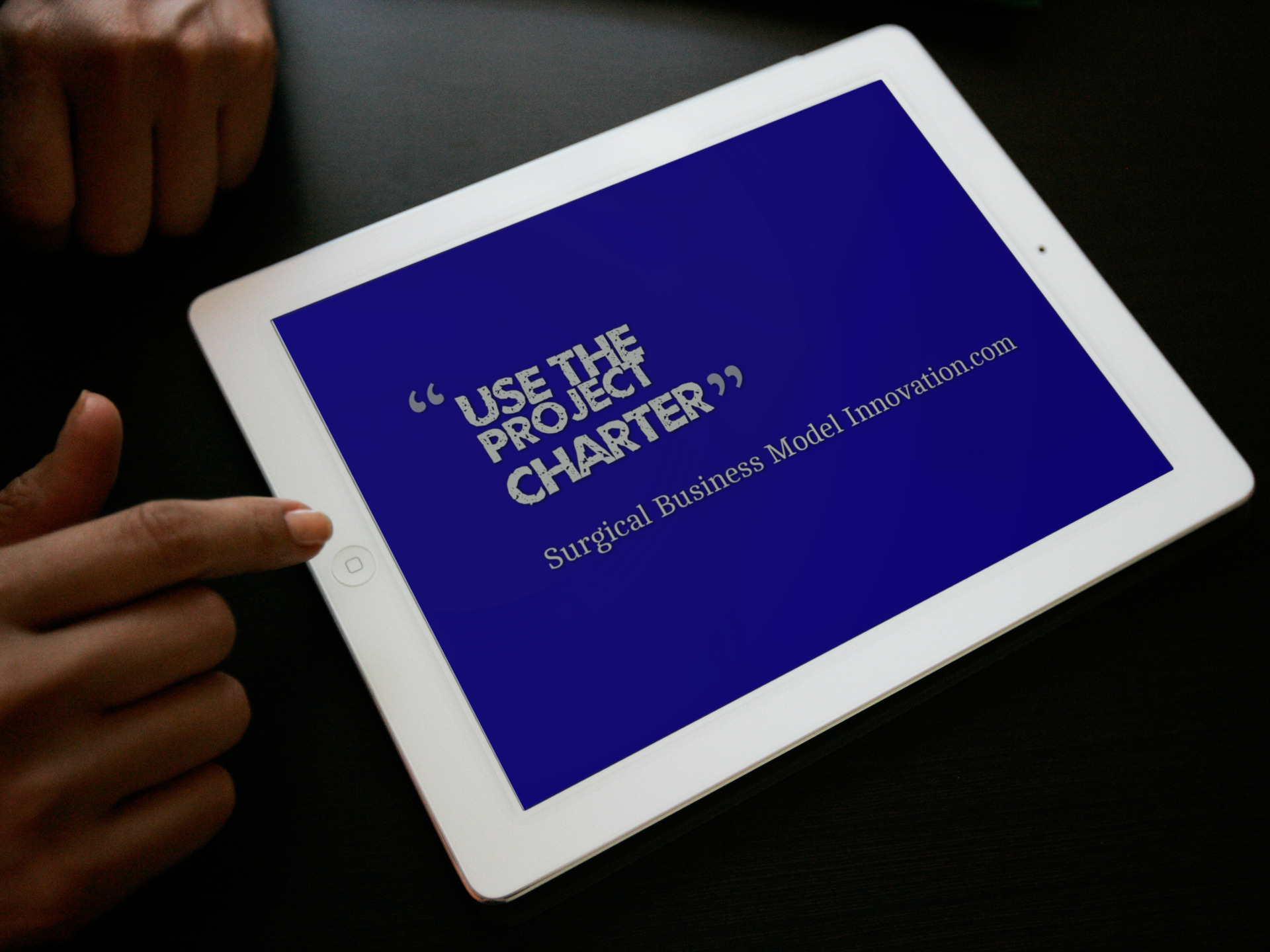 Use The Project Charter For Your Quality Project