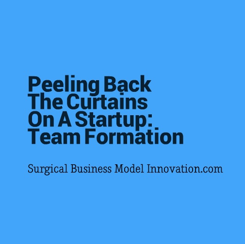 Peeling Back The Curtains On A Startup: Team Formation
