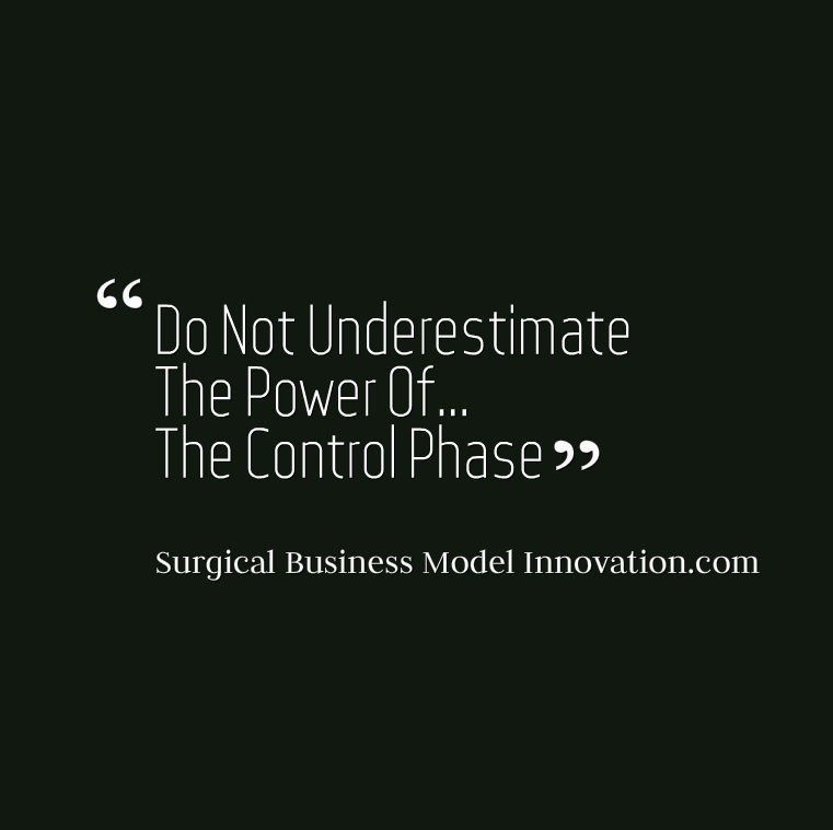 Do Not Underestimate The Power Of…The Control Phase