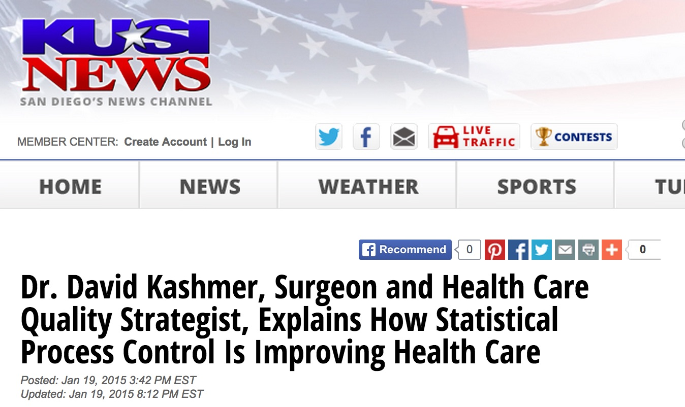 Lean & Six Sigma For Healthcare In The News
