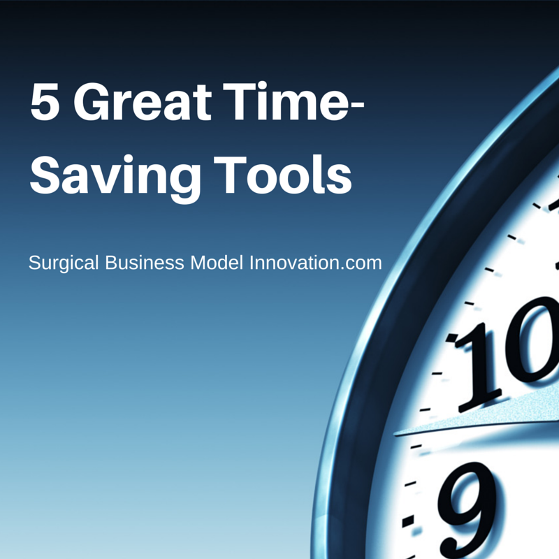 5 Great Time-Saving Tools