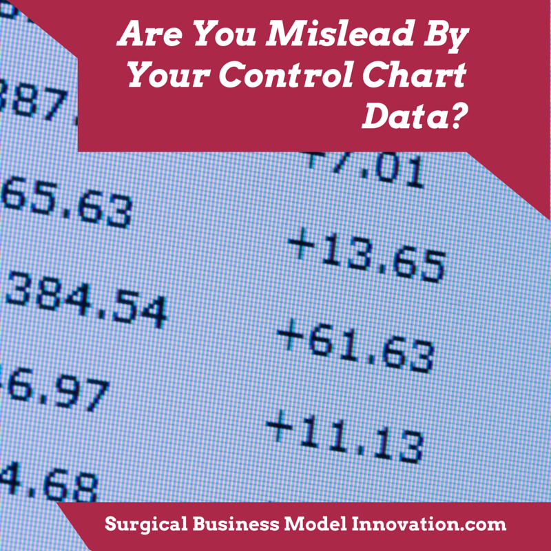 Are You Mislead By Your Control Chart Data?