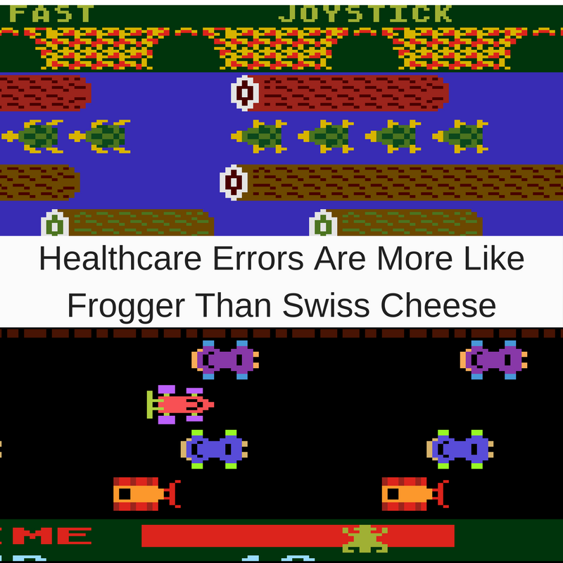 Healthcare Errors Are More Like Frogger Than Swiss Cheese