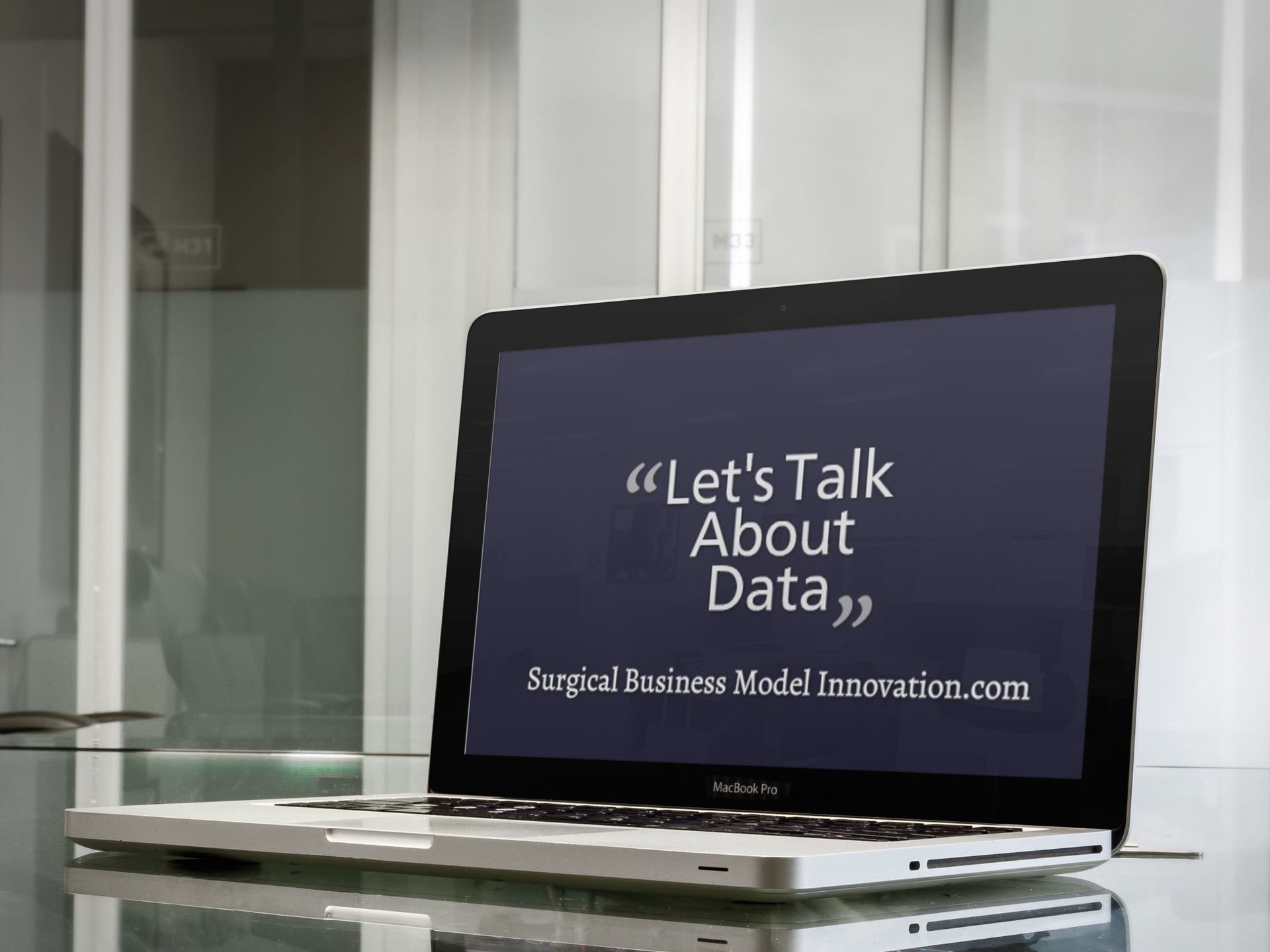 Let's Talk About Data