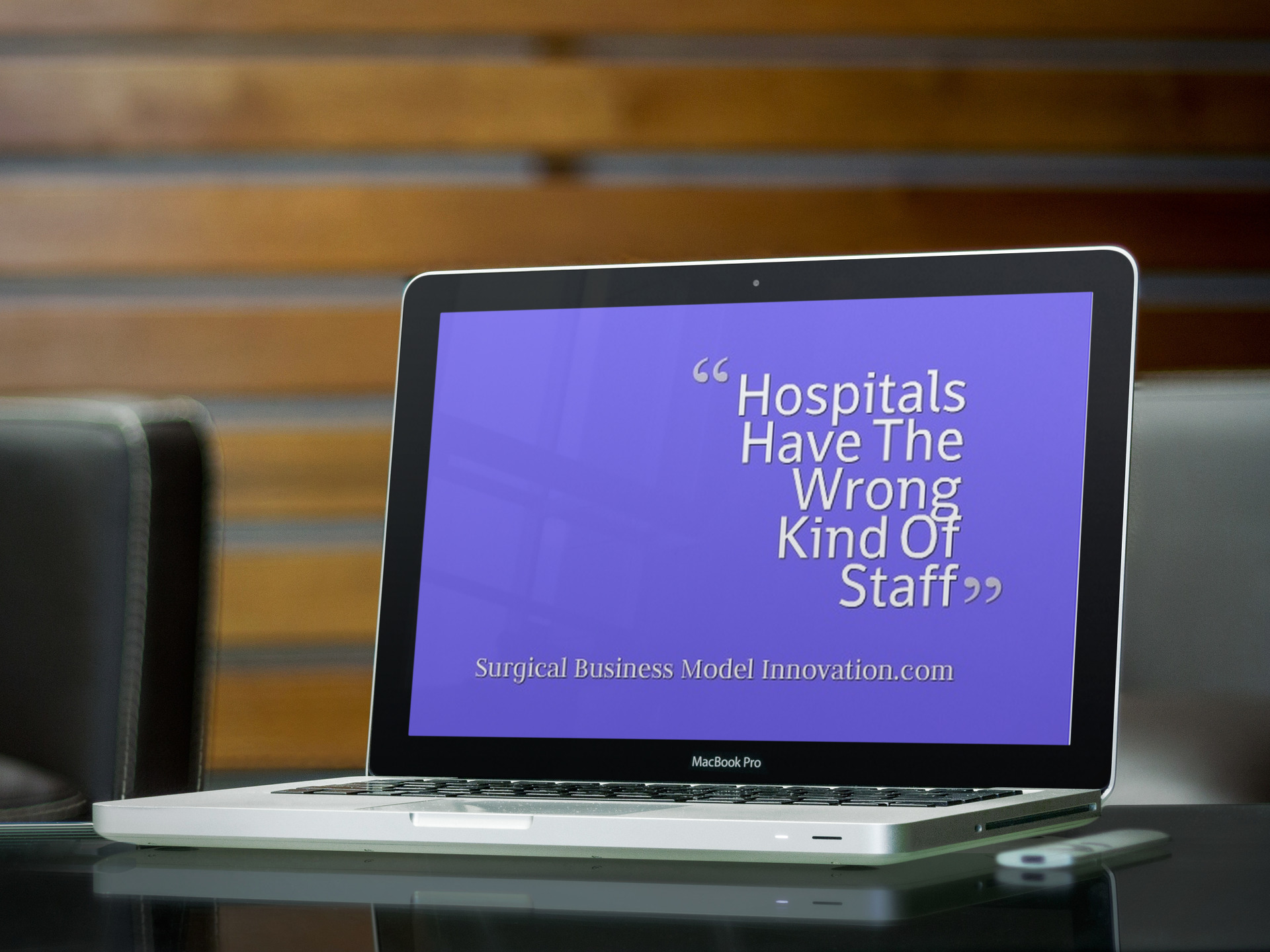 Let's Staff Hospitals Correctly