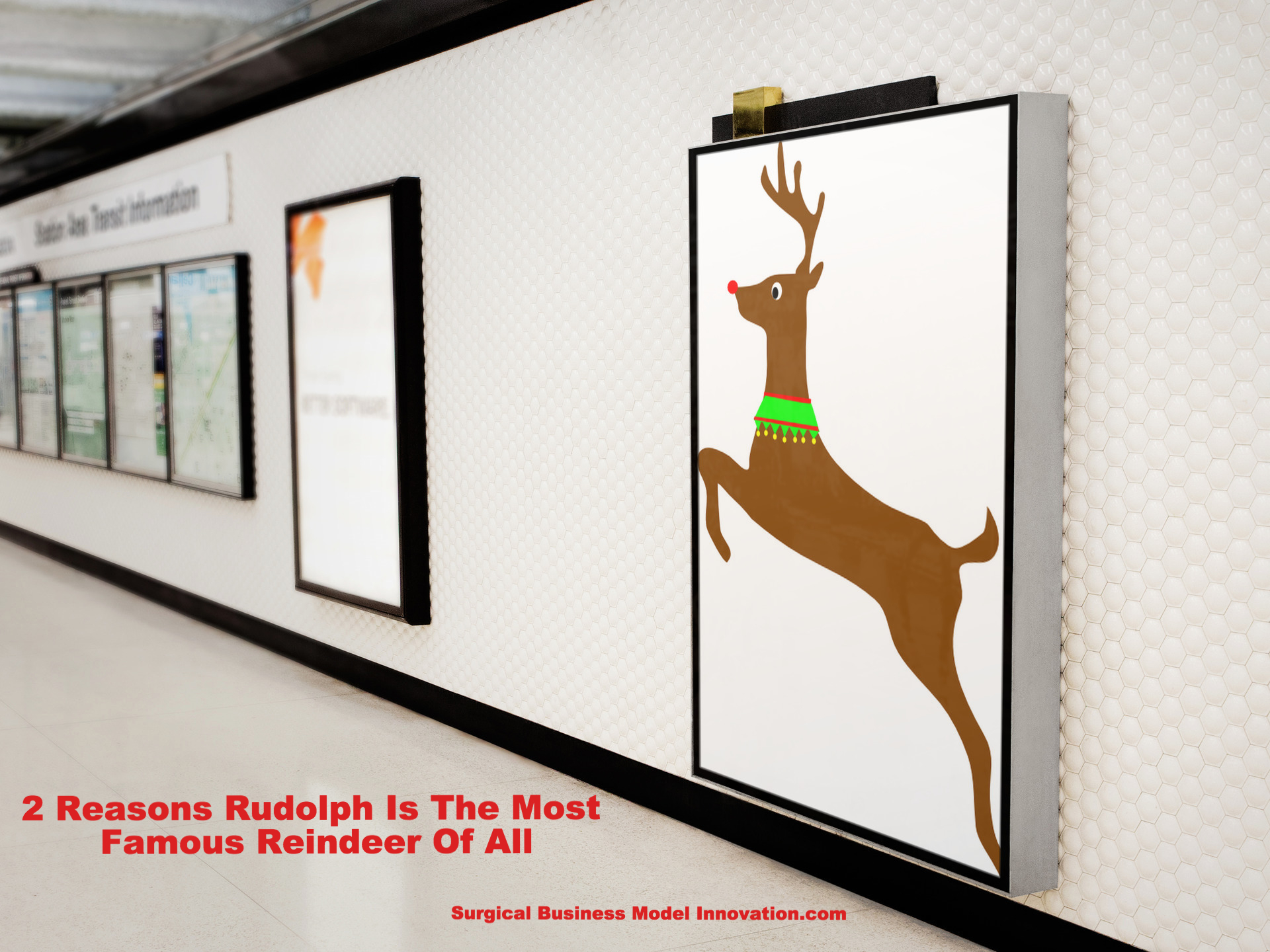 2 Reasons Rudolph Is The Most Famous Reindeer Of All