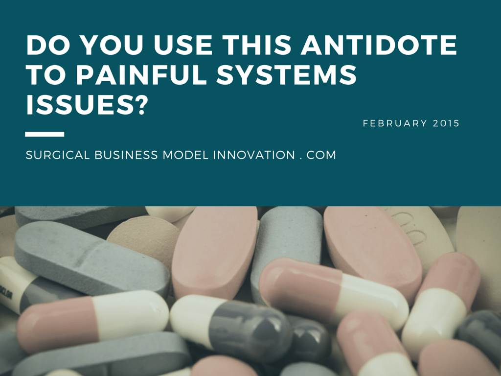 Do You Use This Antidote To Painful System Issues?