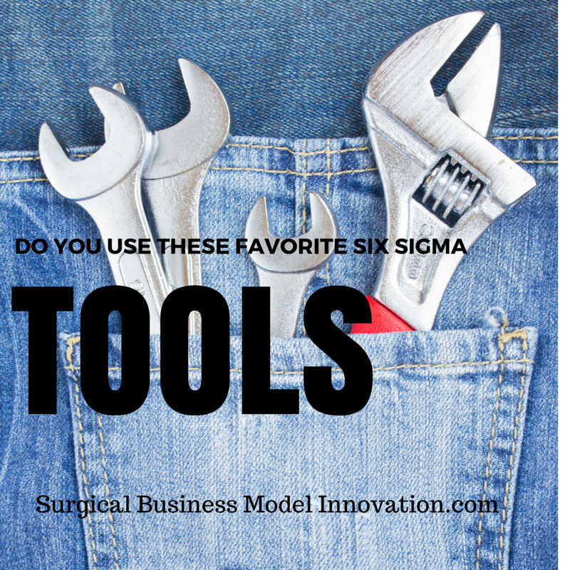 Do You Use These Favorite Six Sigma Tools?