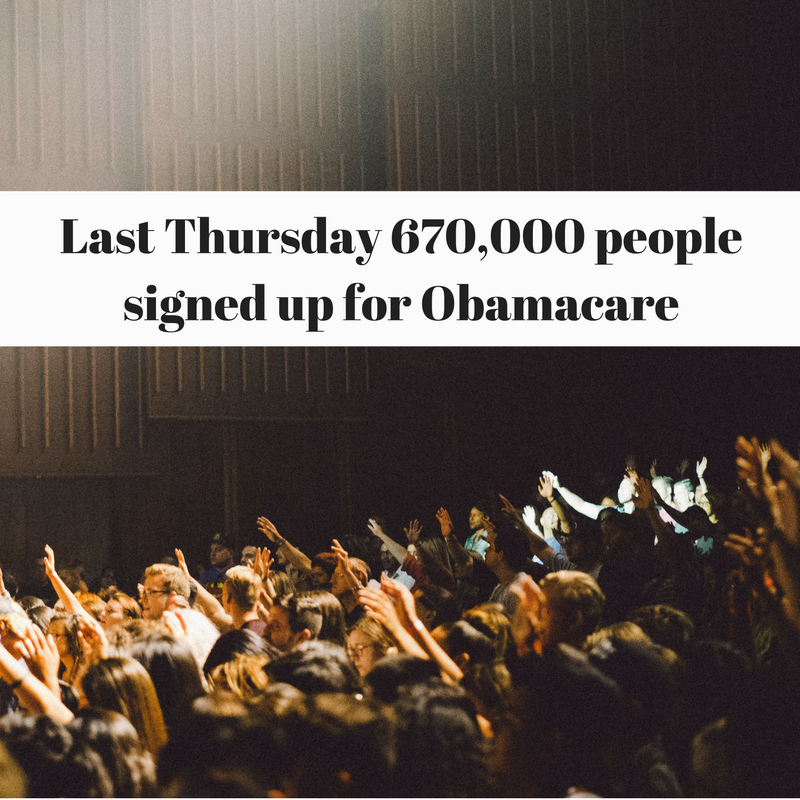 Obamacare boasts largest day ever Thursday on HealthCare.gov